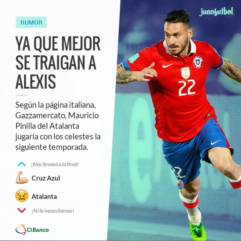 El delantero chileno podría ser la siguiente contratación cementera.