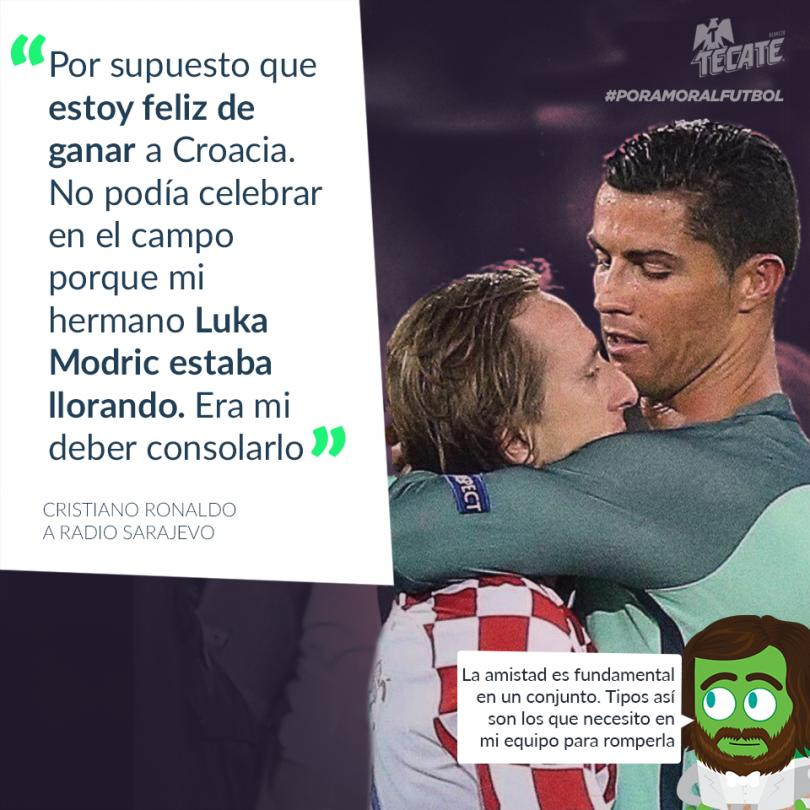 Cristiano Ronaldo explicó por qué no celebró contra Croacia