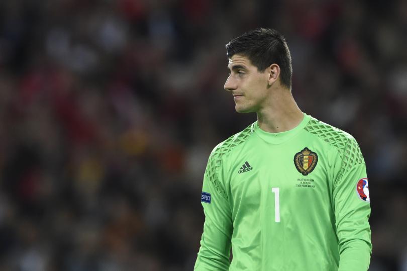 Courtois está en contra del entrenador de Bélgica
