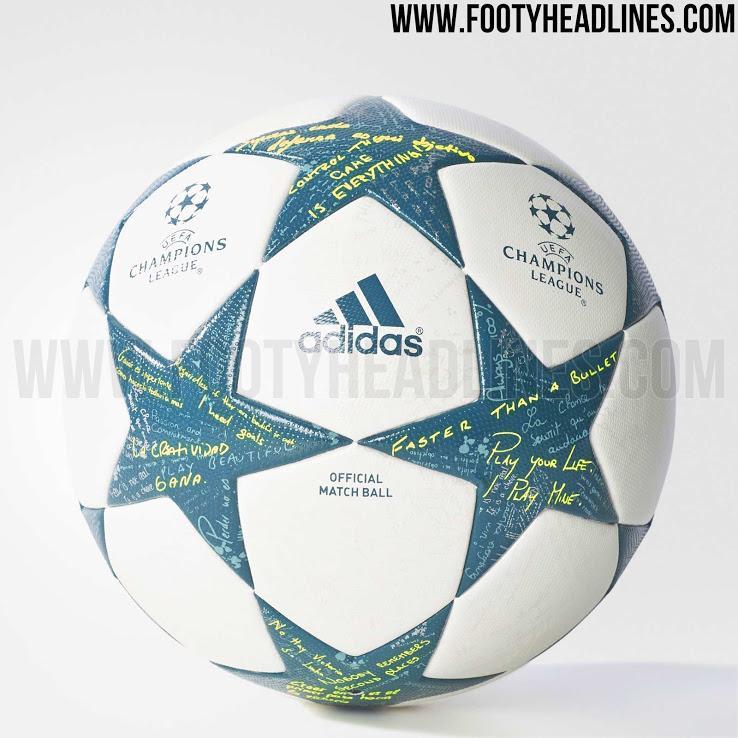 53d58287eab12 Filtran el balón de la Champions League 2016-17.