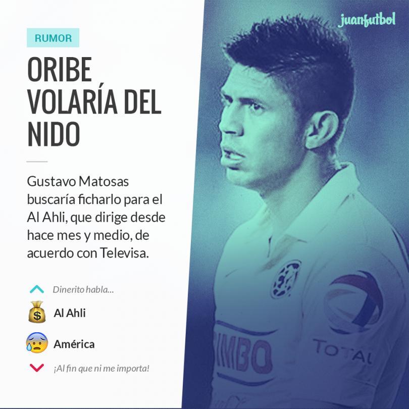 Oribe Peralta saldría del América para llegar a Al Ahli.