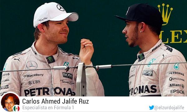 Columna sobre el equipo Mercedes de la F1.