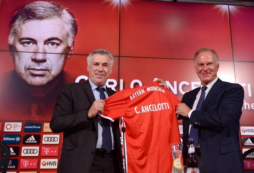 Josep Guardiola, extécnico del Bayern Munich y actual del Manchester City, le deseó suerte a Carlo Ancelotti, nuevo entrenador del equipo bávaro. El catalán dejó un cartel escrito en italiano en la oficina del club.