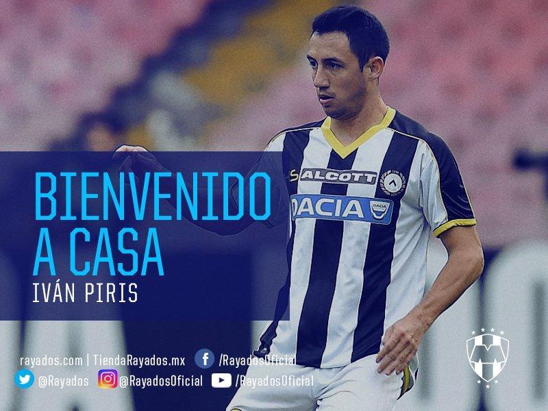 Iván Piris llega al Monterrey