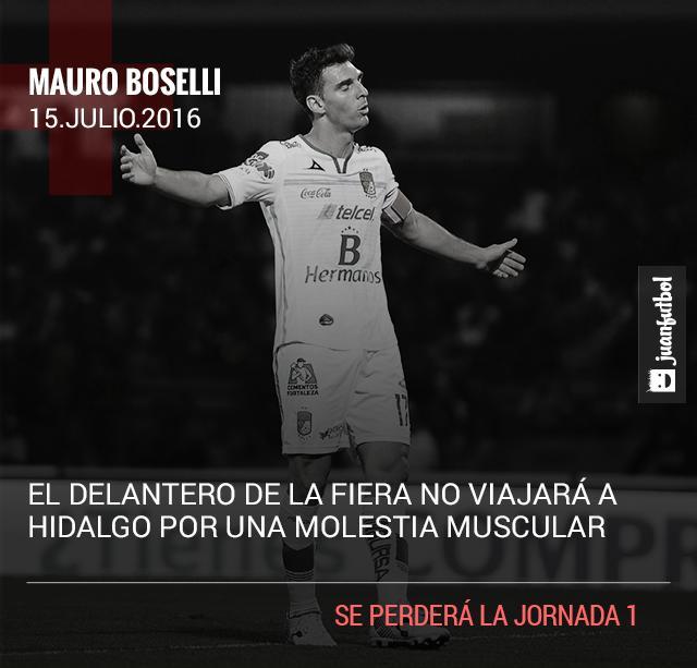 León pierde a Boselli por lesión