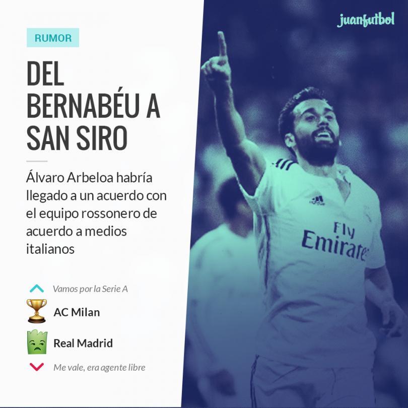 Arbeloa llegaría al Milan