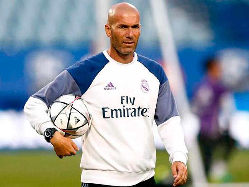 Zinedine Zidane habló sobre Pogba y James Rodríguez