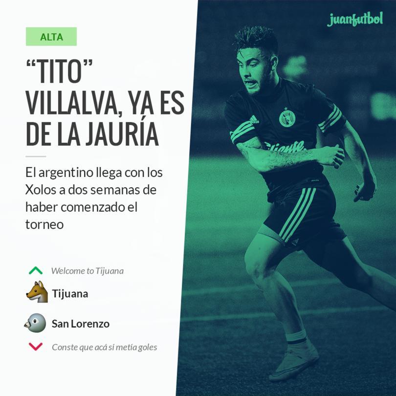"""El """"Tito"""" viene de un exitoso paso por el San Lorenzo."""