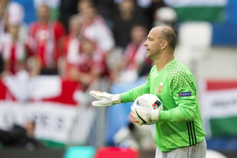 Gabor Kiraly dice adiós a la selección de Hungría