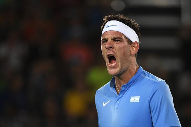 Juan Martín del Potro eliminó a Novak Djokovic