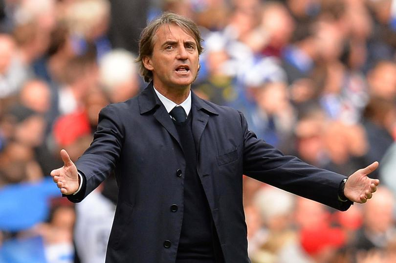 Mancini rompió con el Inter de Milán.