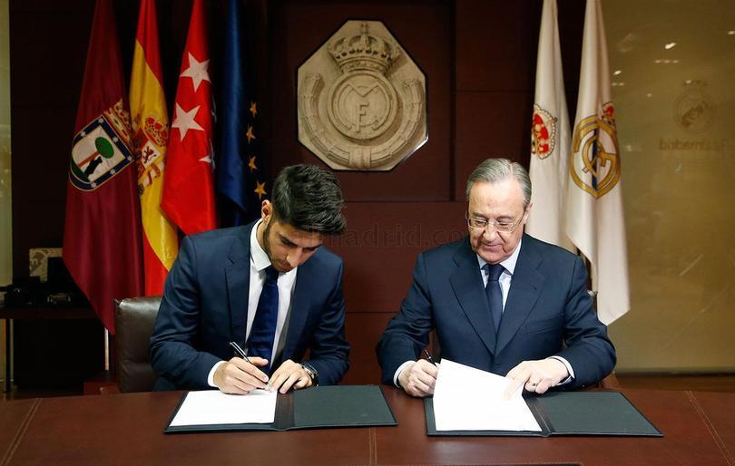 Presentan a Asensio con el Real Madrid.