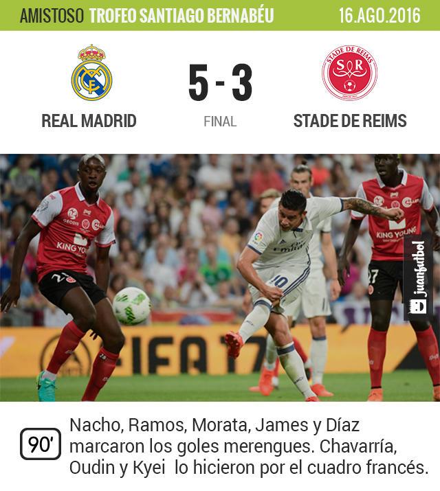 El Madrid sacó el arsenal y se llevó su trofeo