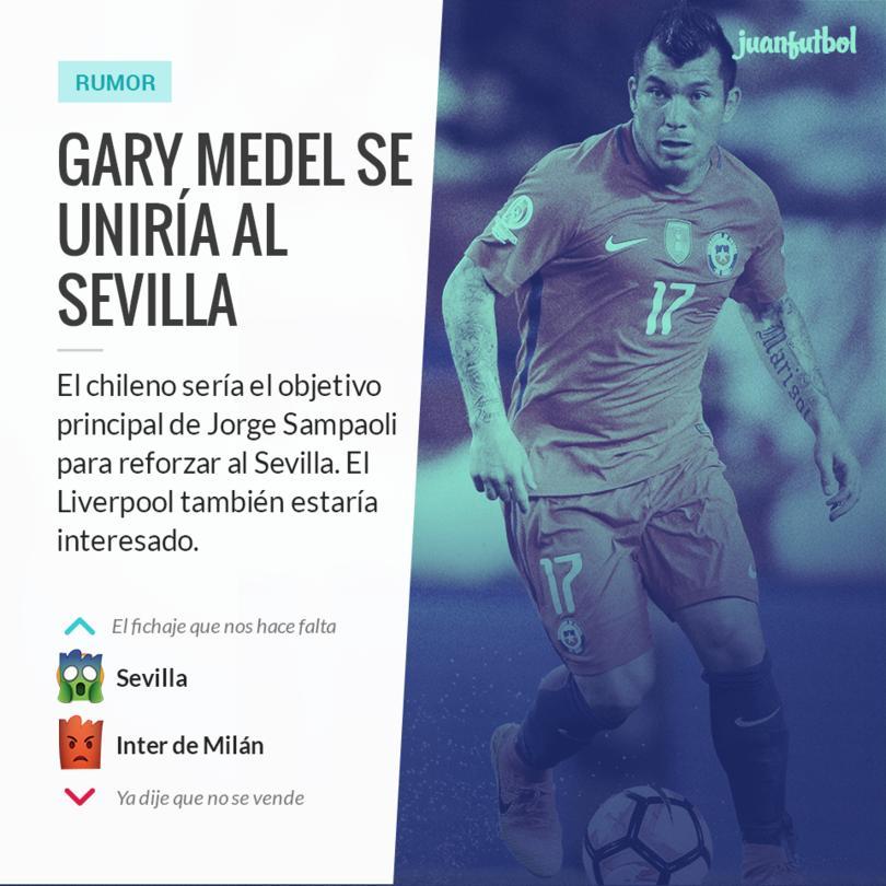 Medel es el objetivo de varios equipos en España e Inglaterra
