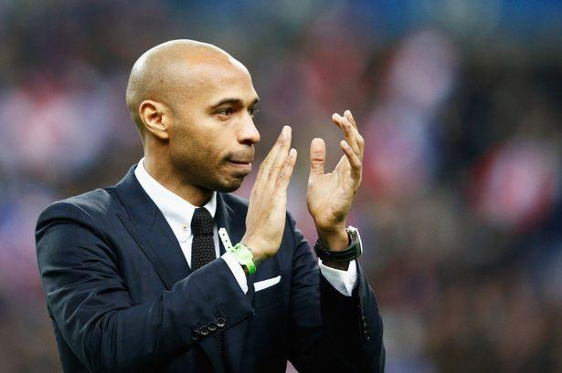 Thierry Henry incursionará como técnico adjunto en el futbol. La leyenda del Arsenal se unió a Roberto Martínez, técnico de la Selección de Bélgica.