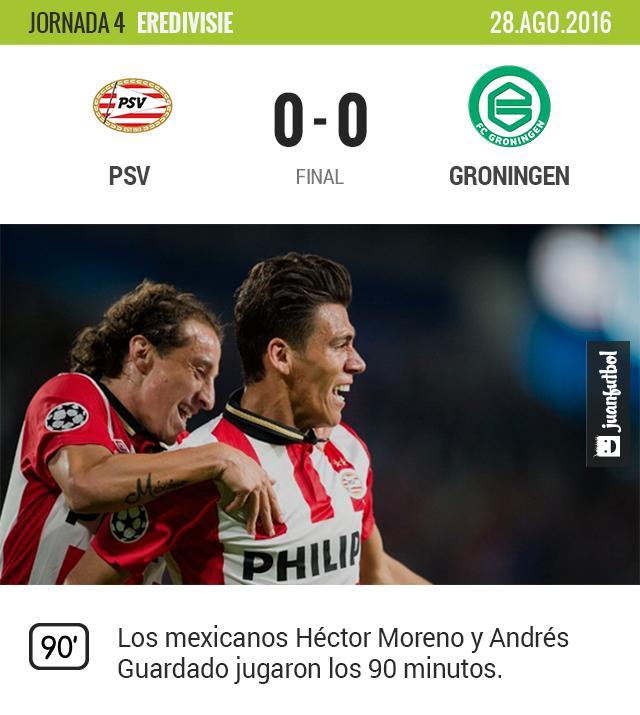 Ambos mexicanos jugaron todo el partido.