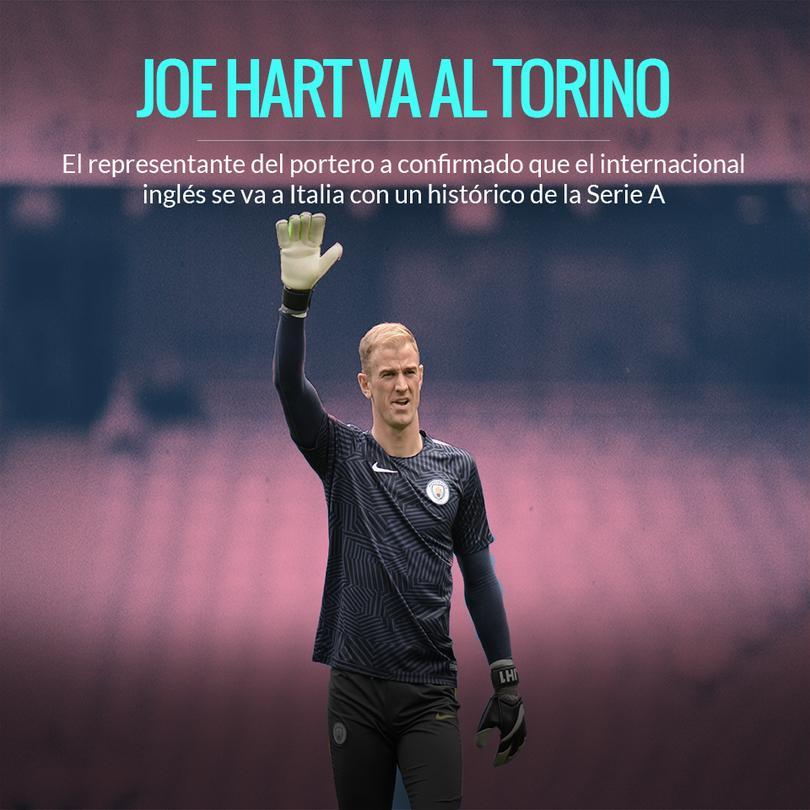 Tras no entrar en planes del City, Hart se va al Torino