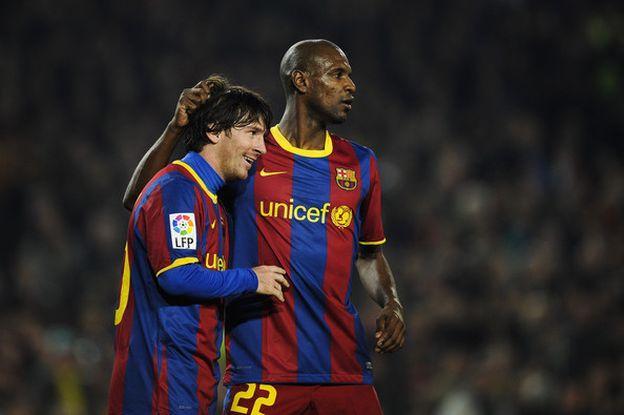 "Abidal: ""No me imagino al Barcelona sin Messi"""