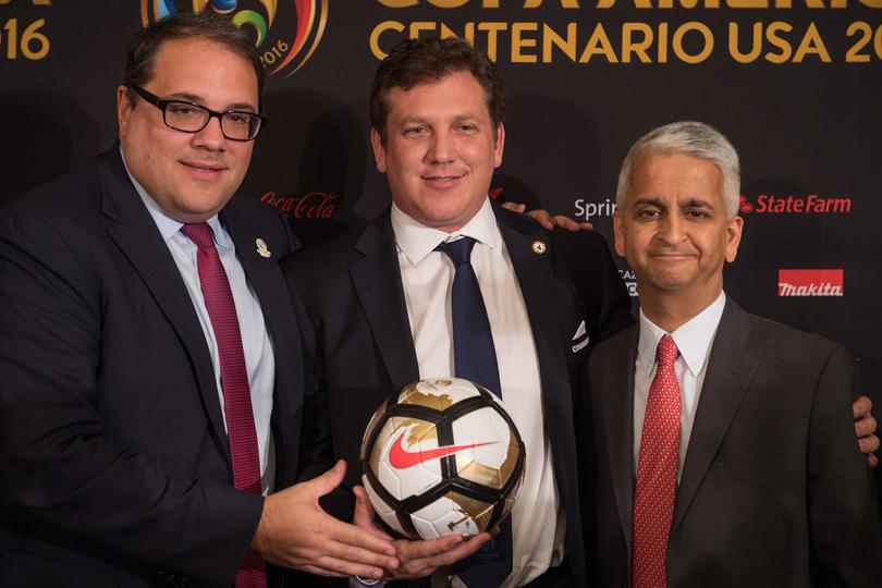 Alejandro Domínguez propone partido entre Real Madrid y River Plate