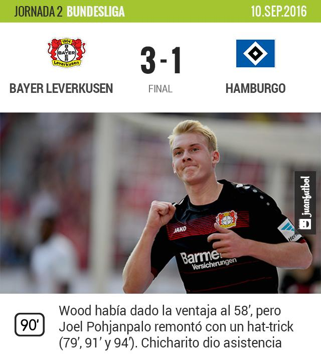 Leverkusen ganó
