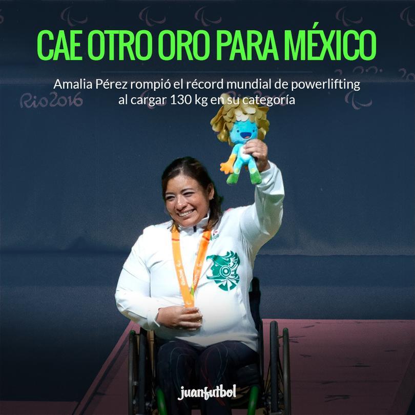 Amalia Pérez le da la segunda medalla de oro a México