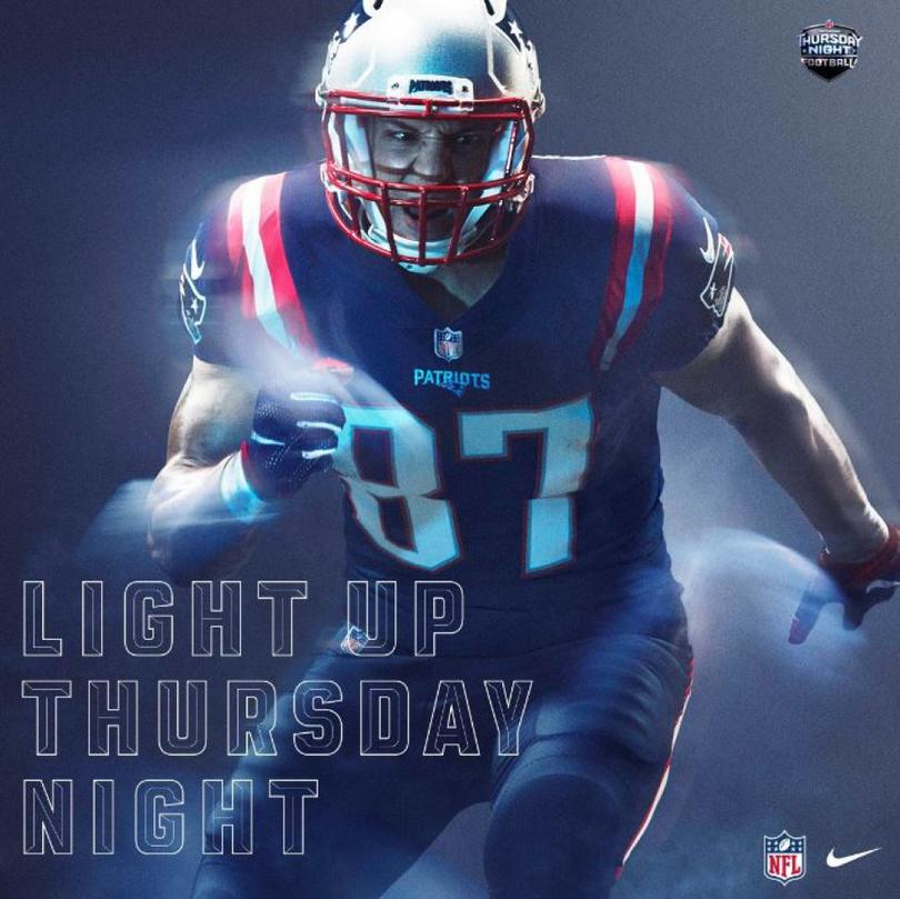 Los uniformes Color Rush para los TNF