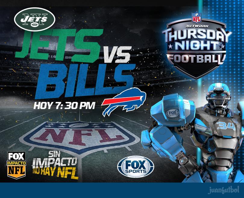 La rivalidad entre Jets y Bills protagonizará el TNF de la semana dos de la NFL.