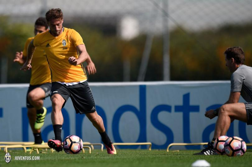 Marchisio ha vuelto a los entrenamientos con la Juventus