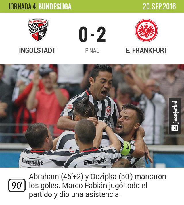 El Frankfurt continúa con buen paso