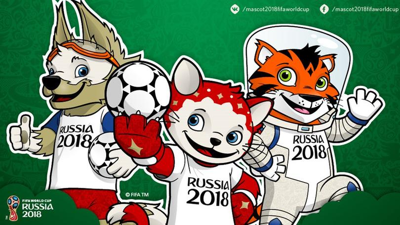 Estas tres mascotas son las finalistas para el Mundial de Rusia 2018