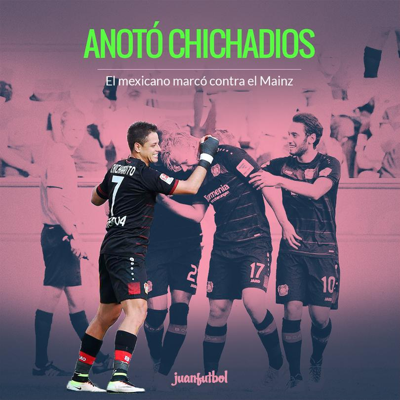 Gol de Chicharito