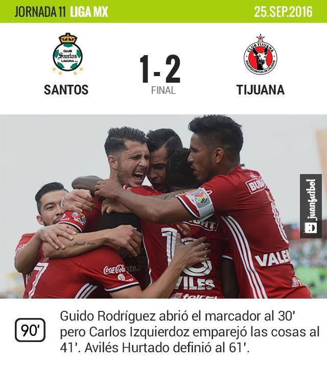 Los Santos apretaron rumbo al cierre del partido pero no les alcanzó.