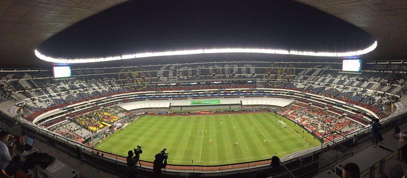 Una muy triste entrada en el Estadio Azteca para los octavos de final de la Copa MX