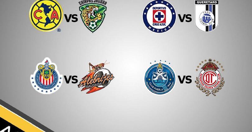 Definidos los horarios para los cuartos de final de Copa MX