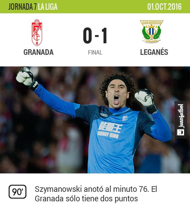 Granada vuelve a perder