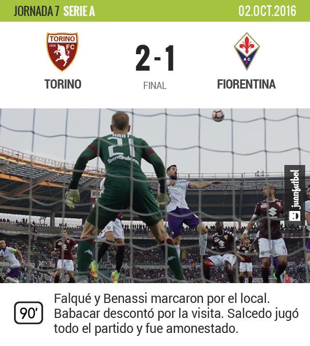 Torino se impuso a la Fiore