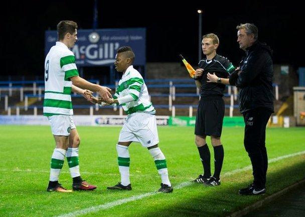 Karamoko Dembele debutó a los 13 años con el equipo sub 20 del Celtic