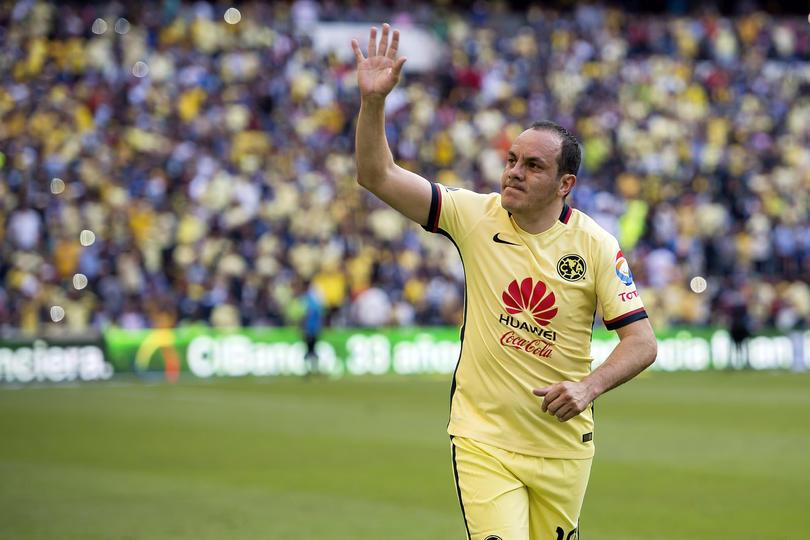 Cuauhtémoc Blanco es uno de los delanteros ganadores del Centenario