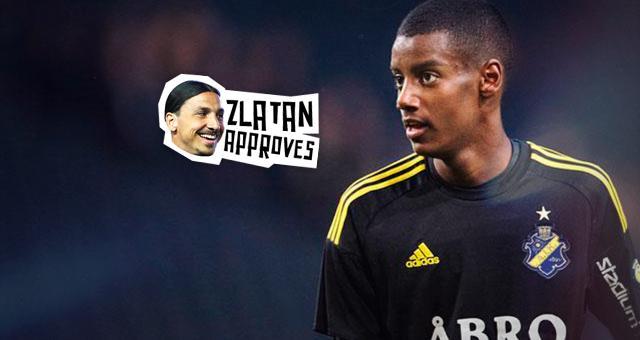 Alexander Isak, la futura estrella sueca apadrinada por Zlatan.