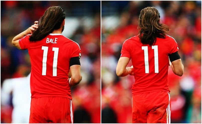 Bale causa euforia en redes sociales por jugar con el cabello suelto.
