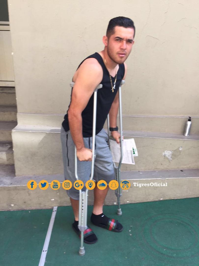 Isreal Jiménez sufrió una fuerte lesión