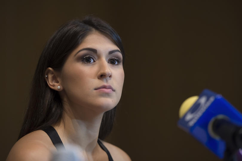 La esgrimista mexicana era una de las favoritas de la delegación olímpica.