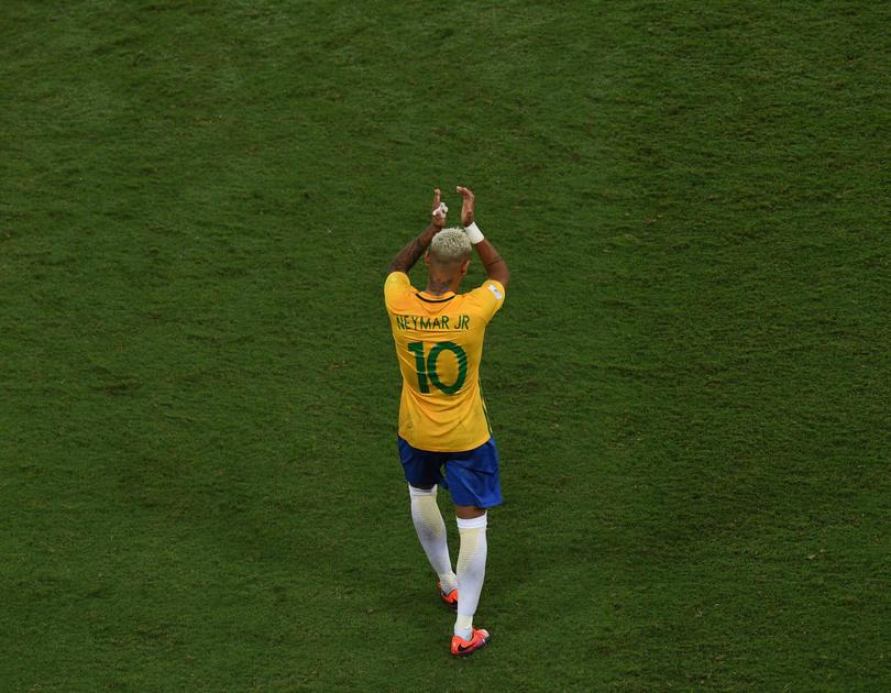 Me sentí aliviado cuando ganamos. Sentí una paz increíble, Neymar