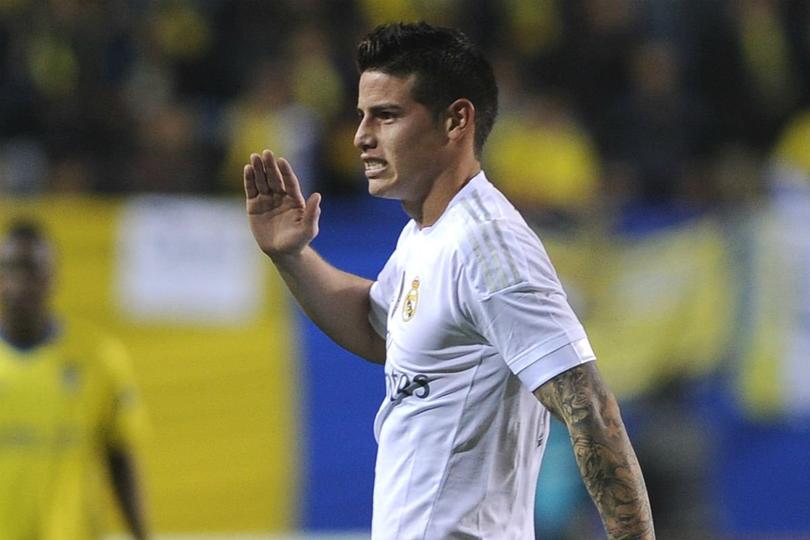 James Rodríguez se suma a la larga lista de los jugadores del Real Madrid con lesión, el colombiano no fue considerado por Zidane para enfrentar al Betis.