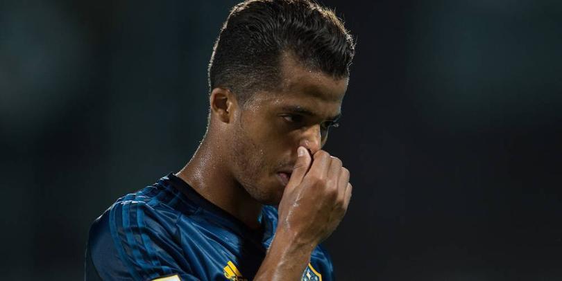 Giovani dos Santos delantero del Galaxy de Los Ángeles