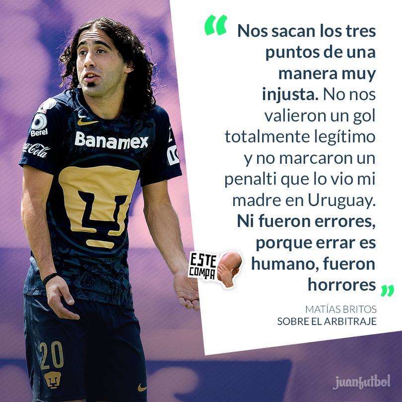 El juego entre Toluca y Pumas pudo haber tenido otro desenlace de haber cambiado ciertos puntos arbitrales