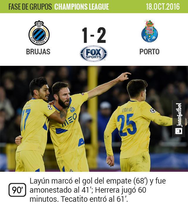 Layún marcó en el triunfo del Porto