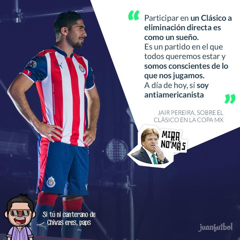 Jair Pereira habla antes del partido contra América por las semifinales de la Copa MX.