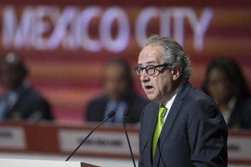 Decio de María había ya expresado su deseo de pertenecer al Comité Olímpico Mexicano.
