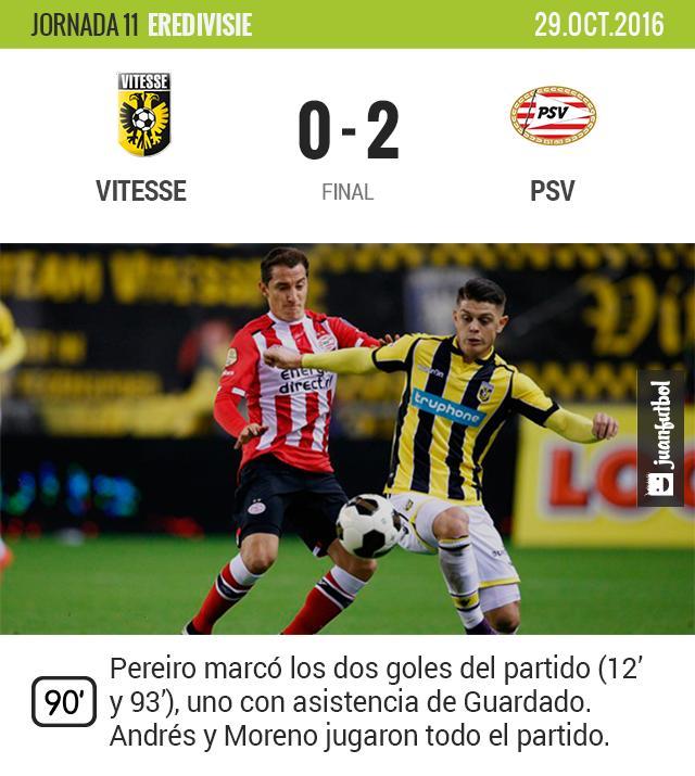 El PSV gana de visita